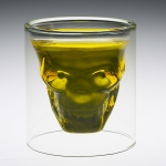 Skull Shaped Whisky Glass