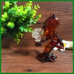 Demon glass smoking pipe