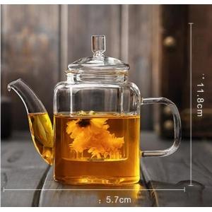 Glass teapot 350ml