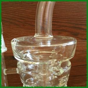 Spoon glass smoking pipe