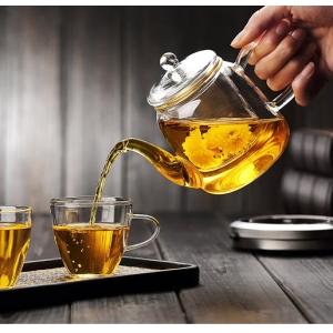 Glass teapot set