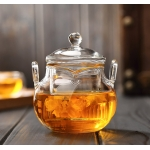 225ml Glass teapot
