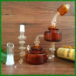 Glass Water smoking pipe