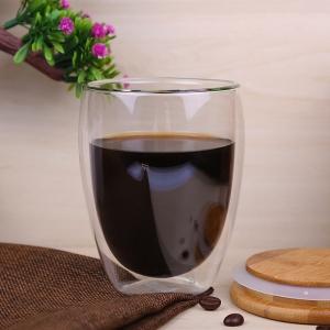 glass coffee cup