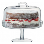 Clear Tableware Dome Cake Cover Cake Stand